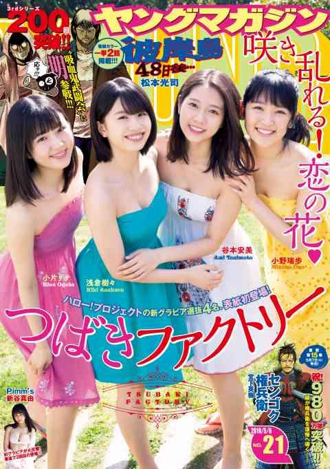 ヤングマガジン 2019年21号 [2019年4月22日発売]